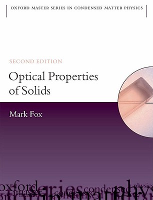 Optical Properties of Solids By Fox, Mark