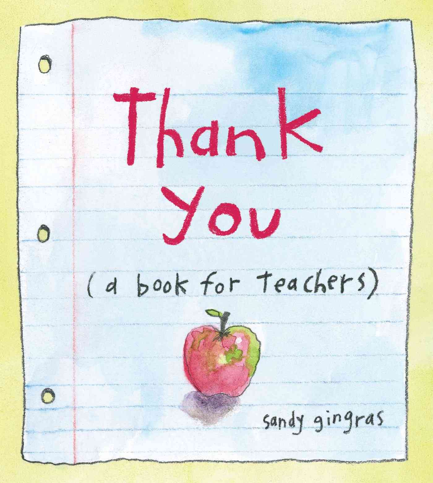 Thank You By Gingras, Sandy